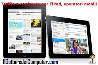 tariffe ipad senza operatore