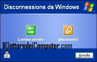 velocizzare disconnessione windows