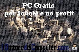 PC gratis dalla regione puglia