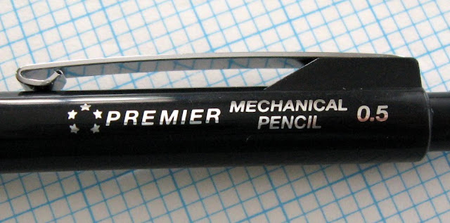 5 Star Premier mechanical pencil markings