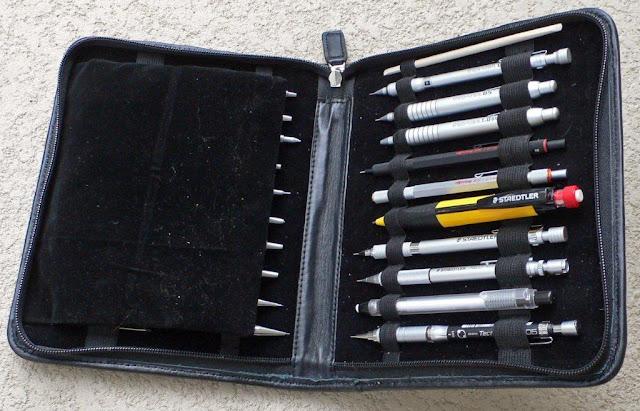 rosetta 20 pencil case