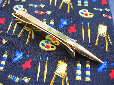 swank mechanical pencil tie clip