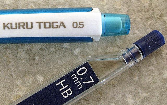 Kuru Toga 0.5 and 0.7