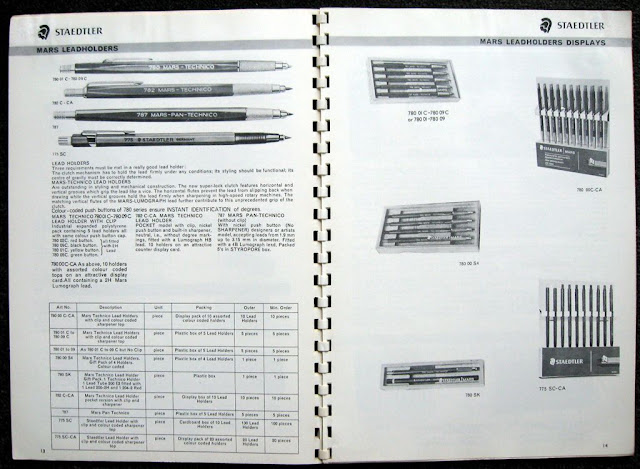 staedtler 1969 leadholder page