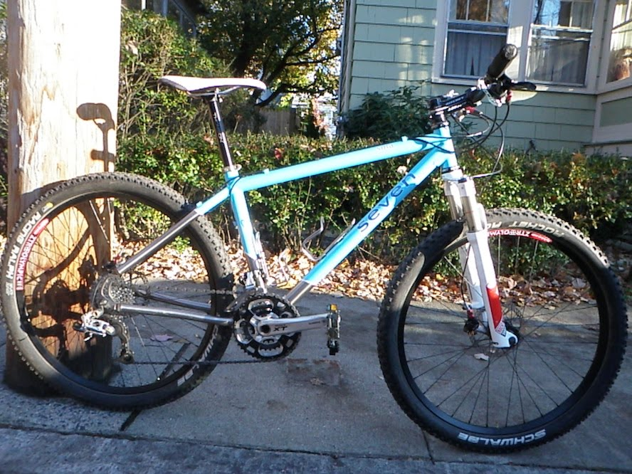 Big Bikes: Review Of VeloCB\'s Seven Cycles Sola: Little Wheels Are ...