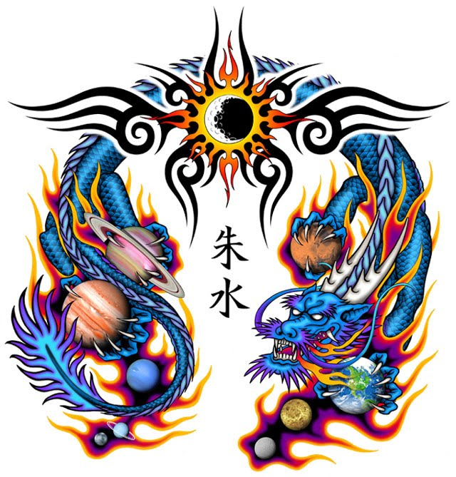Amazing Chinese Dragon Art collection