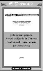 Estándares para la Acreditación de la Carrera Profesional Universitaria de Obstetricia
