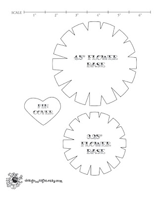 Print and Cut Out this Flower Template, Page 3