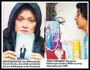Nurin Jazlin Duka Keluarga Mangsa Rogol Bunuh Dihimpit Kesedihan