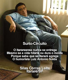 Poster-Poema Luiz Antonio Solda