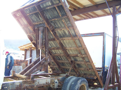 1992 Ford F-600 Flat Bed Dump Truck For Sale