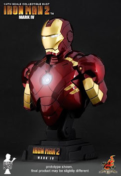 Hot Toys - Iron Man 2 Mark IV 1/4 Bust