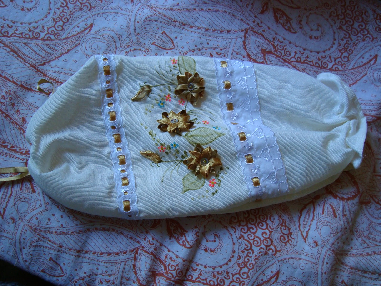 Marli bordados e pinturas - Edredon saco infantil ...
