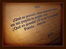 Poesía...