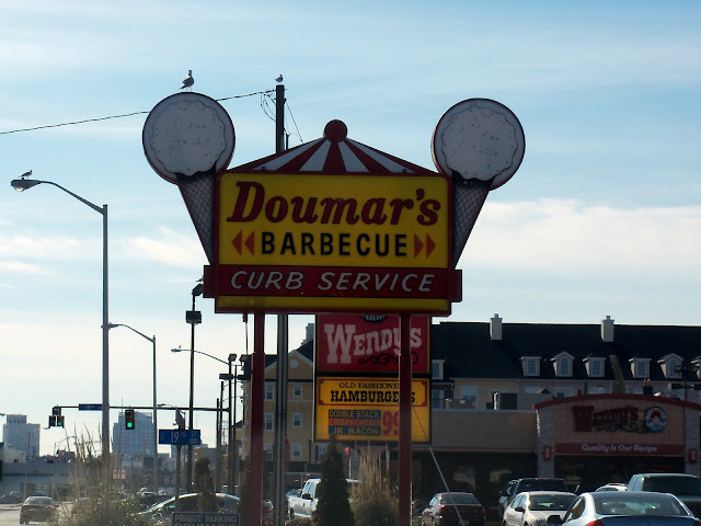 Birthplace of the original ice cream cone, Doumar's in Norfolk, Va.