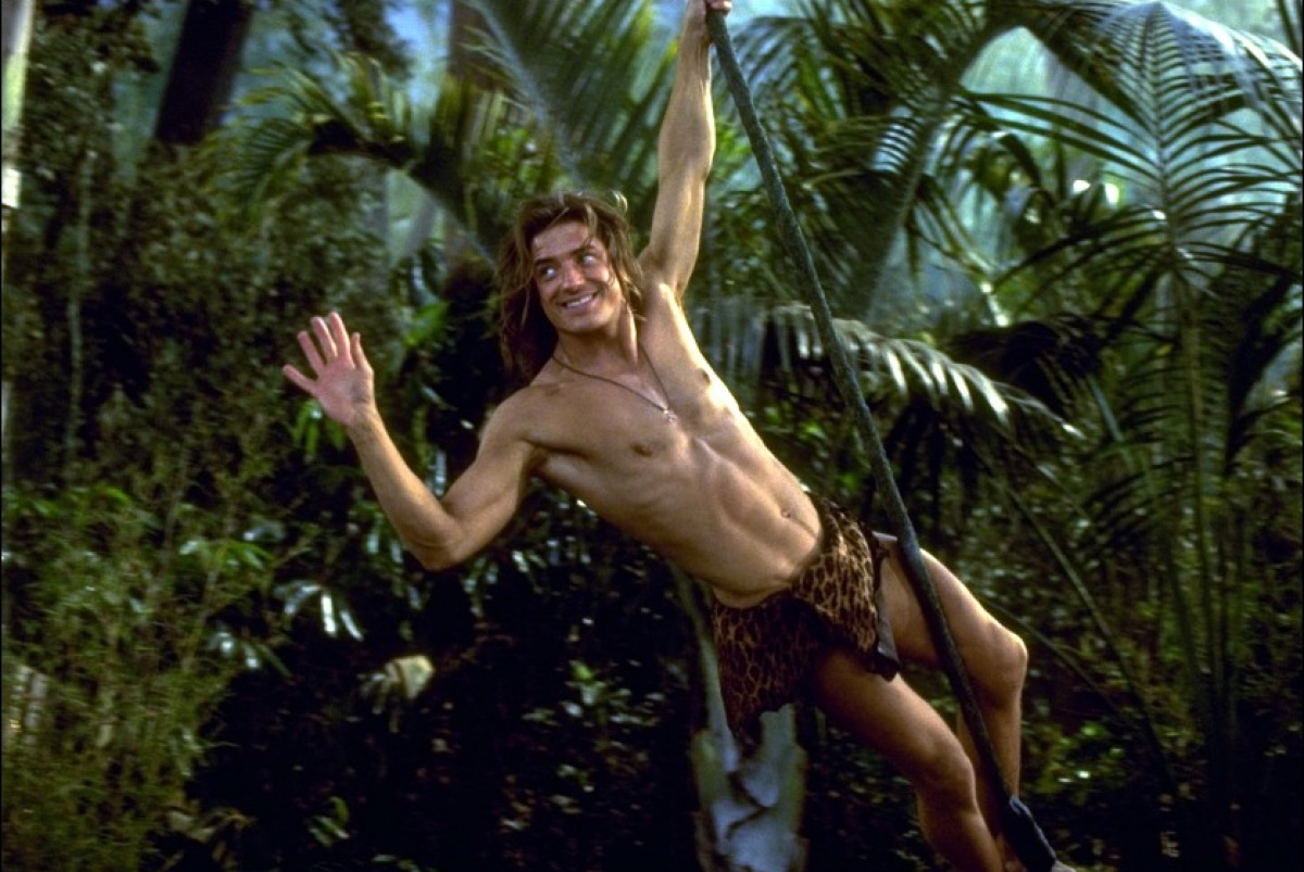 Tarzan through the ages. George-de-la-jungle-97-06-g