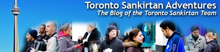 Toronto Sankirtan Adventures