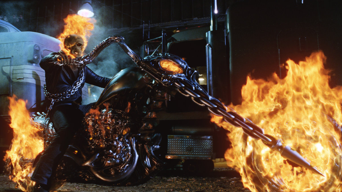 Ghost Rider's Harley-Davidson, it's halloween time!