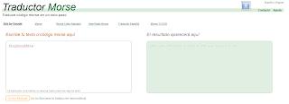 Traductor online de código Morse