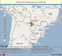 Mapa Geográfico de Sudamérica