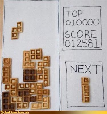 Tetris muy artístico