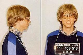 Imagen de Bill Gates detenido