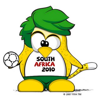 Imagen de Tux Sudáfrica 2010