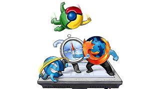 Imagen de un catch entre los navegadores