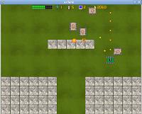 Imagen de un juego de tanques para linux