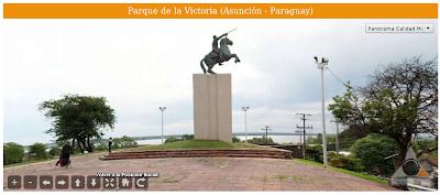 Imagen del Parque de la Victoria (Asunción - Paraguay)