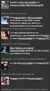 Imagen de Menciones de proyectosbeta en la presentación de buscadores y redes sociales en paraguay