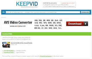 Imagen de un ejemplo como descargar un vídeo de vimeo sin utilizar programas