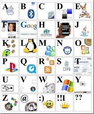 Imagen del abecedario Geek