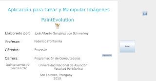 Imagen de la Presentación de Paint Evolution
