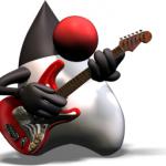 Imagen de Duke con guitarra