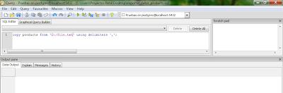 Imagen de ejemplo en pgAdmin3