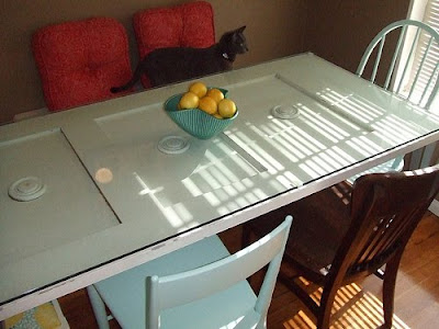 Dining Tables Made From Old Doors