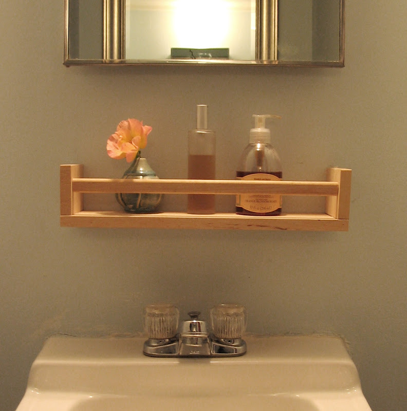 Bathroom Sink with Shelves