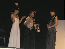 """Chantall,Inés y Rosa.(Mónica Sagrera,Lourdes León y Marta Morujo)""""Los náufragos"""""""