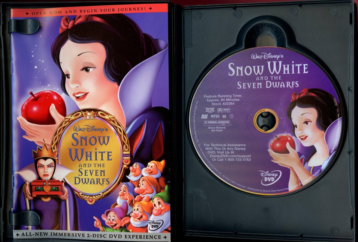 snow white and the seven dwarfs disney platinum edition vhs
