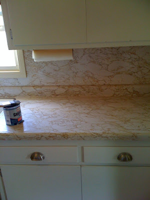 Rocky Bella: Before & After: Painting My Countertops