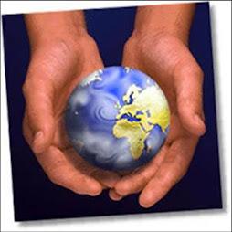 el mundo está en nuestras manos cuidemos lo que tenemos