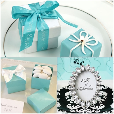 Tiffany Themed Wedding Favors Wedding Ceremony Location Ideas