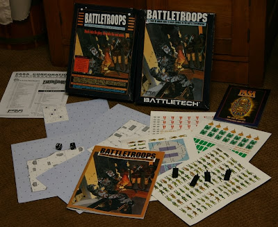 FASA game battletroops components