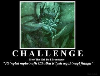 Cthulhu Challenge