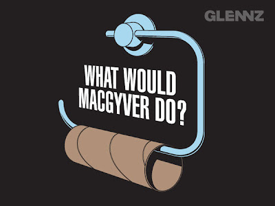 Glenn Jones Glennz t-shirt designs MacGyver