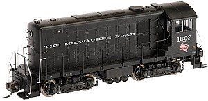 Hiawatha Hobbies train engine Atlas, HH660 - Milwaukee Road #1603
