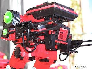 Brick Commander LEO Battletech Warhawk Masakari