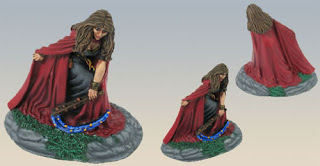 Darksword Miniatures Green Witch Dennis Mize