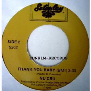 Nu Cru - High Cost / Thank You Baby (1981) (Maxi Single)